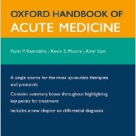 Oxford Hand book Of Acute Medicine (2nd Edition)