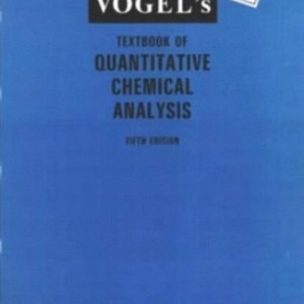 Vogels Textbook of Quantitative Chemical Analysis Longmann